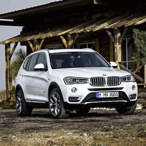 شیشه اتومبیل بی ام و (BMW) سری X3